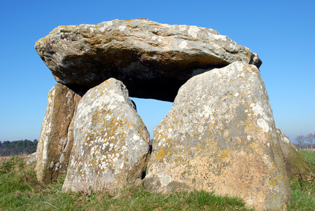 Dolmen of Mein Goarrec in Morbihan