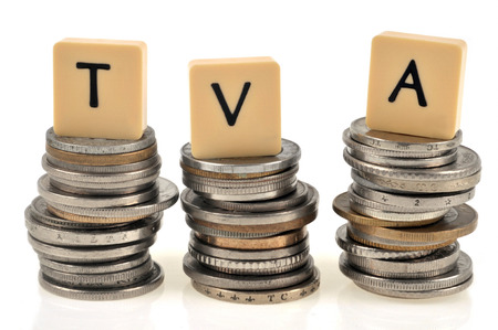 VAT concept tax system Stock Photo