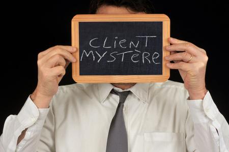 The mystery shopper