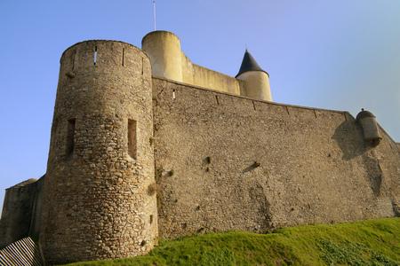 The castle of Noirmoutier Stockfoto - 104527431