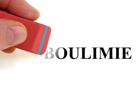 Bulimia concept Фото со стока