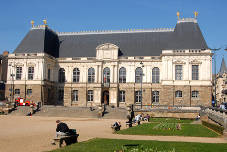 The Brittany Parliament in Rennes