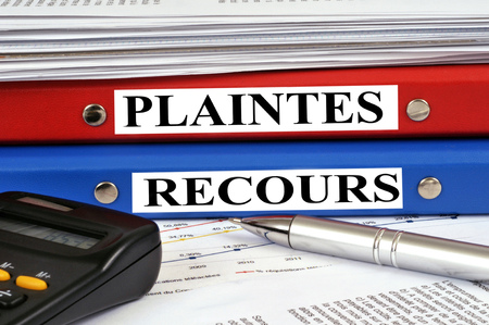 Complaints and recourse file