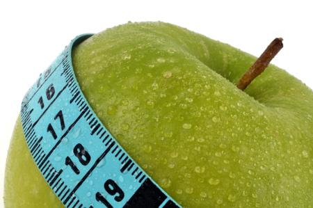 Measuring a Smith granny apple