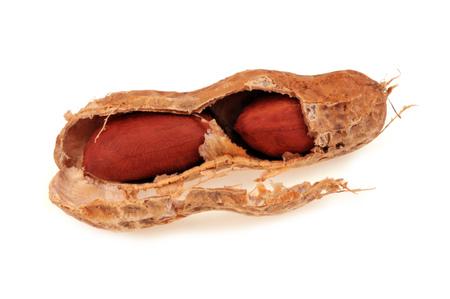 Peanut in its hull 스톡 콘텐츠