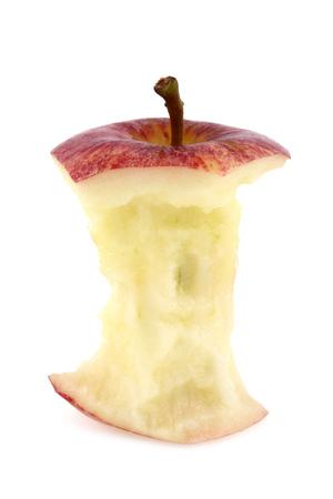 Apple Core Stockfoto
