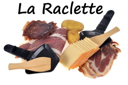 The ingredients of raclette Banco de Imagens