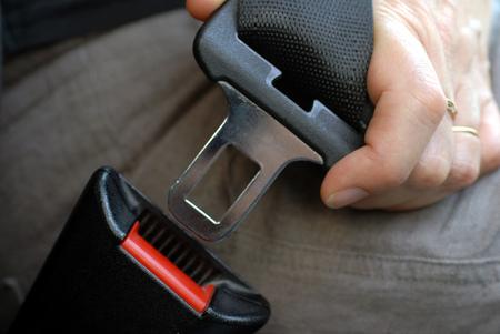 Put on your seatbelt Banque d'images