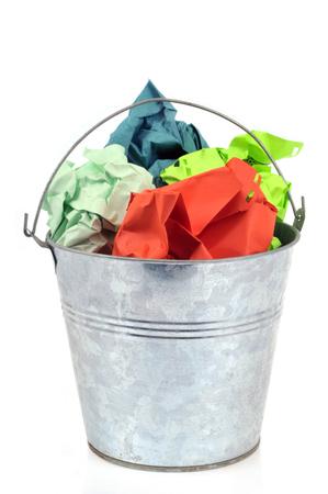Paper trash 写真素材 - 106565058