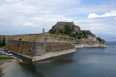 Ancient citadel of Corfu Editorial