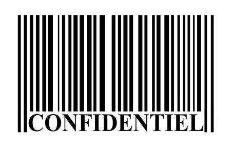 Confidential barcode