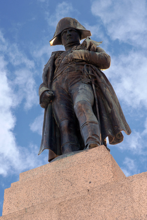 Statue of Napoleon in Ajaccio
