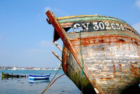 L'épave du navire