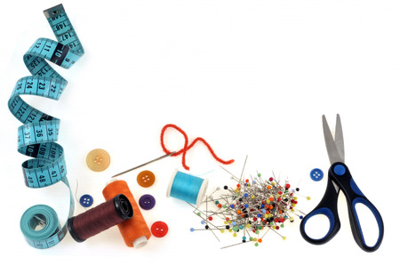 All for sewing Stock Photo