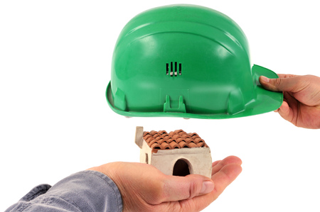 Builder insurance concept 写真素材