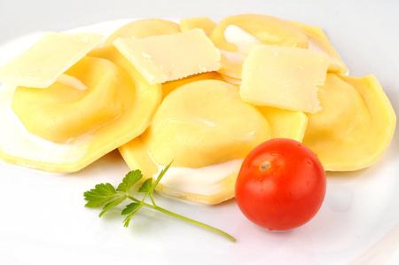 Fresh ravioles