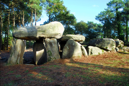 Dolmen of Mane-Kerioned in Brittany