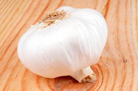 The garlic clove Imagens