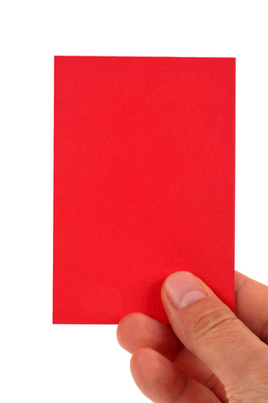The red card