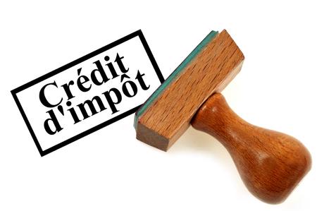 Inking stamp tax credit
