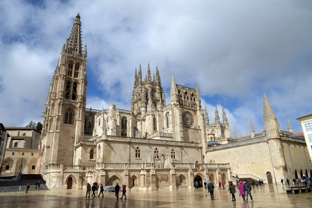 St. Mary's Cathedral in Burgos Editorial