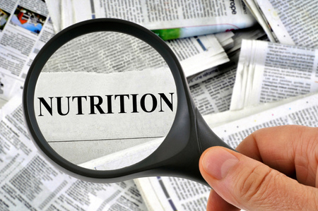 Nutrition with a magnifying glass