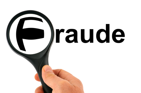 Fraud with a magnifying glass
