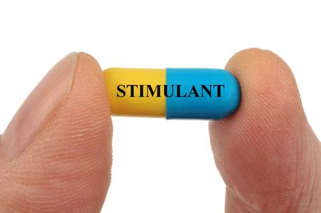 The stimulant Фото со стока