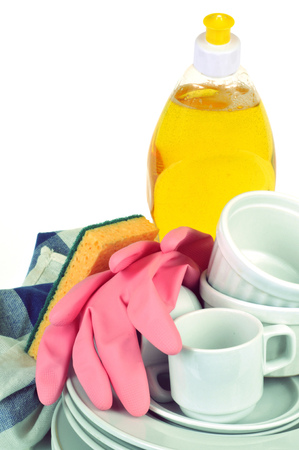 Dishes and dishwashing products