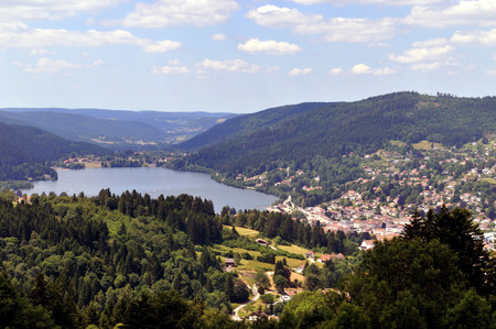 Lake Gerardmer in the Vosges