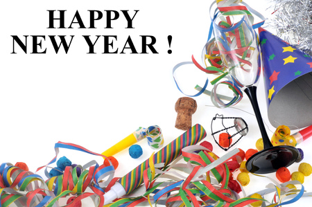 Happy New Year Banque d'images - 110445367
