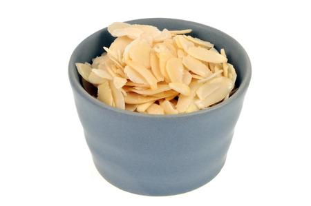 Ramekin with almonds Stock Photo
