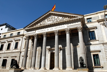 Congress Palace in Madrid