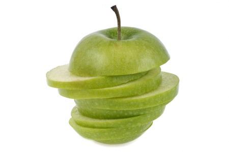 Cut Smith granny apple