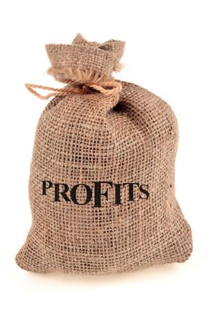 Profits 写真素材