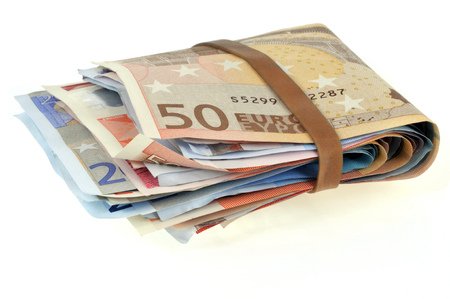 Bundle of banknotes