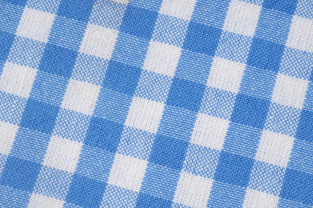 Checked towel