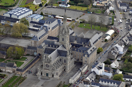 Basilica of St. Anne of Auray 写真素材