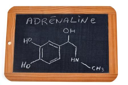 Chemical formula of adrenaline