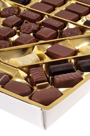 Box of chocolates 免版税图像