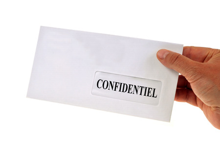 The confidential letter