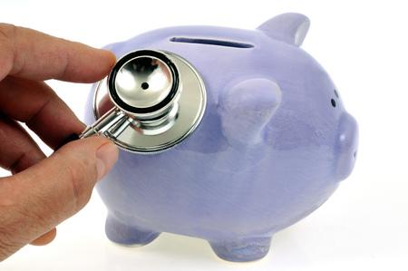 Auscultation of the piggy bank