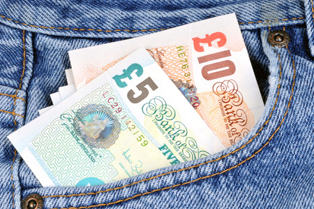 Pounds in pocket Imagens