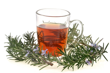 Rosemary infusion Banque d'images