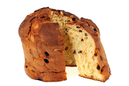 panettone isolated Stockfoto
