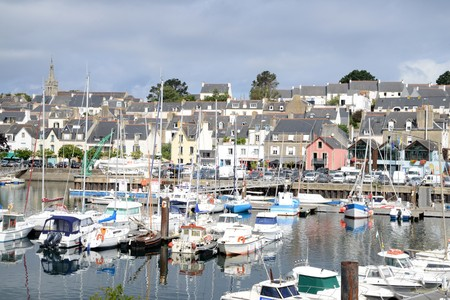 The port of Douarnenez Editorial