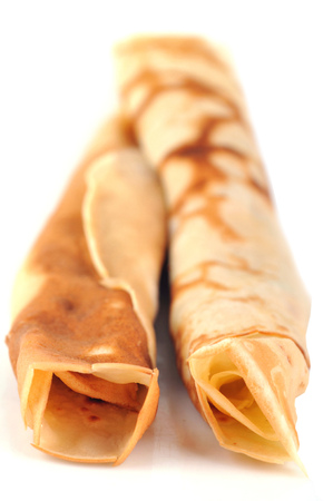 Pancakes rolled