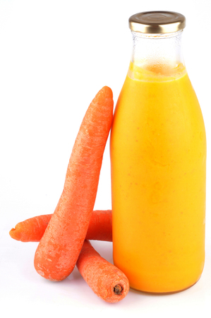 Bottled carrot soup