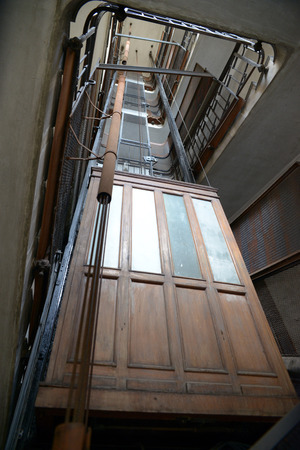 The old elevator