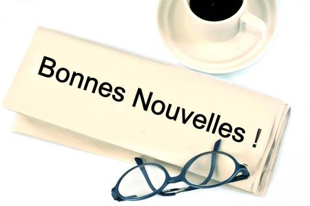 Good news Banque d'images - 114825619